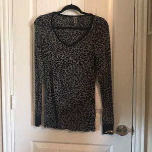 BKE top leopard print